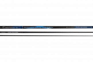 De Power King Margin is een oversteekhengel voorzien van een holle top. De hengel is uitermate geschikt voor zware visserij op bijvoorbeeld vijvers. Tevens is de hengel compleet met opzetstukken en elastiek 20+.