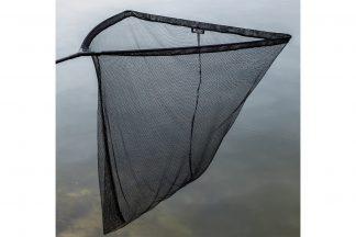 Het Lion Sports Treasure Carpnet is een ruim karpernet met een zwarte mesh, waardoor het nauwelijk opvalt in het water en de vis minder laat schrikken. Het net is voorzien van een heavy duty spreidblok en een carbon schepnetsteel.