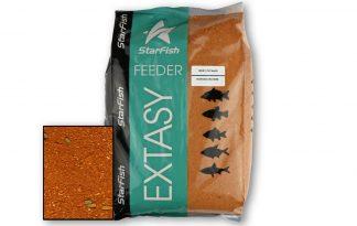 Starfish Feeder Extasy lokvoer is het het nieuwe revolutionaire moderne grondvoer speciaal ontworpen voor methode feeders. Twee verschillende dichtheden voor Running Waters en Still Waters. Destilstaande water mix is van een lagere dichtheid, waardoor het voer langzaam verspreidt.