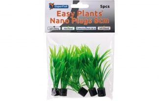 De Superfish Easy Plants Nano Plugs zijn realistisch uitziende kunstplanten om je aquarium een natuurlijk omgeving te geven. Daarnaast zijn deze kunstplanten zijn enkel gemaakt van de hoogste kwaliteit materialen. De planten zakken tevens vanzelf naar de bodem.