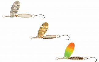 De Predox Trout Attractor Spinner zijn hoge kwaliteit spinners voor het vissen op forel. De spinner is gekleurd en geribbeld voor een hogere aantrekkingskracht door middel van reflectie.