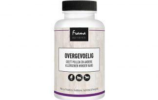 De Frama Overgevoelig ondersteunt de afweer van het lichaam. Het is een zeer breed inzetbaar product bij alle vormen van allergieën. Tevens heeft het een versterkende werking voor het immuunsysteem.
