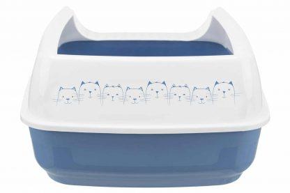 De Delio open kattenbak is voorzien van een rand waardoor kattenbakvulling en urine niet uit de kattenbak kunnen komen. Daarnaast is deze open kattenbak voorzien van een verbrede uitgang waar de kat zijn/haar poten aan kan schoonmaken en zo niet de kattenbakvulling mee het huis in neemt.