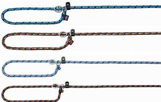 De Trixie Mountain Rope retriever lijn is voorzien van een traploos, verstelbare anti-trekvoorziening om toch prettig te kunnen wandelen met uw hond.