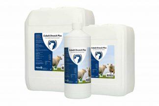 Cobalt Drench Plus is een verstrekking voor schapen, lammeren, rundvee en kalveren met een langerewerkingstijd(2 tot 4 maanden).