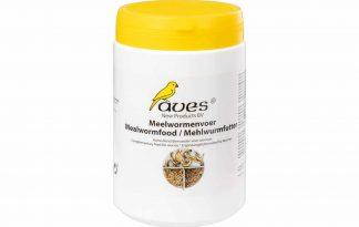 Aves Meelwormenvoer is een voer voor meelwormen, morio en buffalowormen. Het meelwormenvoer voorziet meelwormen van de benodigde hoeveelheden extra calcium en alle vitaminen, mineralen en sporenelementen.