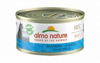Almo Nature HFC Jelly - makreel is een heerlijke natvoeding volgens het bekende en traditionele receptuur van Almo Nature.