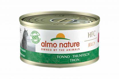 Almo Nature HFC Jelly - tonijn is een heerlijke natvoeding volgens het bekende en traditionele receptuur van Almo Nature.
