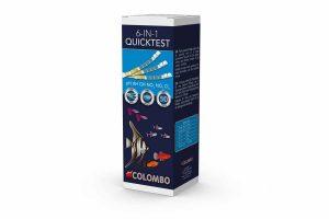 De Colombo Aqua QuickTest 6in1 strips kunnen een nauwkeurige meting doen van 6 waardes in het vijver- of zoet aquariumwater.