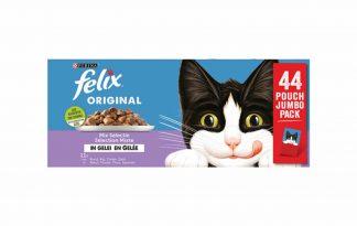 Felix Elke Dag Feest mix selectie 44-pack is een assortiment onweerstaanbare maaltijden die er zó lekker uitzien en zó lekker ruiken alsof je het zelf hebt klaargemaakt.