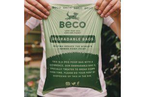 De Beco Bags mint zijn biologisch afbreekbare poepzakjes met een mintgeur. Deze zakjes zijn geschikt voor de meeste dispensers. Deze milieuvriendelijke oplossing draagt bij aan een gezond ecosysteem. Deze zakjes breken snel af en laten geen schadelijke stoffen achter.