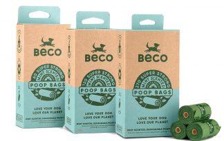 De Beco Bags mint zijn biologisch afbreekbare poepzakjes met een mint geur. Deze zakjes zijn geschikt voor de meeste dispensers. Deze milieuvriendelijke oplossing draagt bij aan een gezond ecosysteem. Deze zakjes breken snel af en laten geen schadelijke stoffen achter.