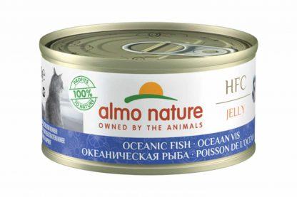 Almo Nature HFC Jelly - oceaanvis is een heerlijke natvoeding volgens het bekende en traditionele receptuur van Almo Nature.