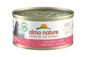 Almo Nature HFC Jelly - zalm is een heerlijke natvoeding volgens het bekende en traditionele receptuur van Almo Nature.
