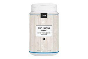 Frama Whey proteïne isolaat is speciaal ontwikkeld voor actieve honden of honden in de sport/training. Het ondersteunt de opbouw van droge spiermassa.