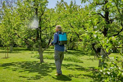 Gardena rugspuit 12 liter gebruik