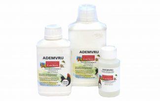 Huismerk Ademvrij is een natuurlijk product gebaseerd op twee etherische oliën: eucalyptus en pepermunt, in combinatie met menthol.