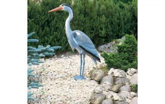 De Ubbink vijverdecoratie reiger is een leuke decoratie voor vijver en zal uw tuin tot leven wekken. De opvallende vogel zal meteen de blik vangen van elke voorbijganger!