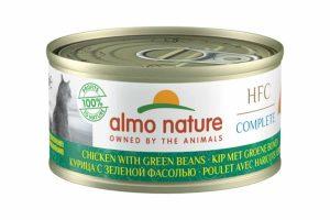 Almo Nature HFC Complete - Kip met groene bonen is een heerlijke natvoeding volgens het bekende en traditionele receptuur van Almo Nature.