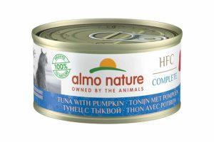 Almo Nature HFC Complete - Tonijn met pompoen is een heerlijke natvoeding volgens het bekende en traditionele receptuur van Almo Nature.