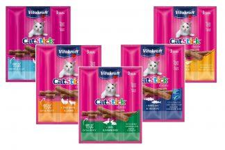 De Vitakraft Cat Stick Classic heeft een unieke, onweerstaanbare smaak en bevat geen kleurstoffen en smaakversterkers.