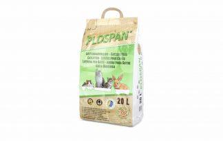 Plospan kattenbakkorrels bestaan uit het meest fijne houtstof dat wordt geperst tot een milieuvriendelijke korrel. Puur natuur en bijzonder eenvoudig in de toepassing als bodembedekker voor in de kattenbak. De korrels zijn stofvrij omdat ze compact en samengeperst zijn.