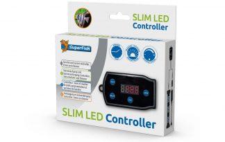 De Superfish Slim LED Controller is een handige tijdsschakelaar om de Slim LED verlichting te besturen. Het kan de verlichting daarnaast automatisch aan en uit zetten op gewenste tijden. Simuleert de natuurlijke zonsopgang- en ondergang.