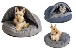 Het Jack & Vanilla Checkmate Orthopedisch Snuggle nest is speciaal ontwikkeld voor katten, middel grote honden of huisdieren met pijnlijke gewrichten.