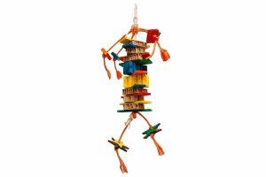 De Zoo-Max Danger, Dynamite! is het ultieme speelgoed voor uw kromsnavel. Gemaakt van een combinatie van natuurlijke en sloopbare materialen waar de meeste vogels echte fans van zijn.