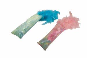 Happy Pet Mermaid Feather Kicker combi