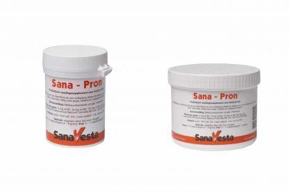 SanaVesta Sana-Pron Probiotica helpt het balans in de darmflora snel te herstellen bij honden en katten. Tevens is het ook goed voor het darmslijmvlies.