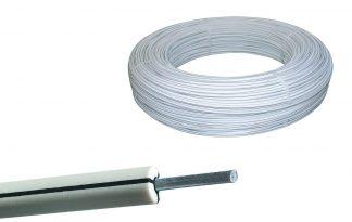 De AKO Premium Horse Wire is een duurzaam elektrische afrasteringssysteem voor paarden! De staaldraad is maar liefst 2,5 mm dik, waardoor deze zeer sterk is.