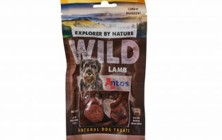 De Antos WILD Lam van 80 gram is een lekkere, 100% natuurlijk hondensnack. Deze snack is glutenvrij, suikervrij, graanvrij en zit boordevol proteïnen.