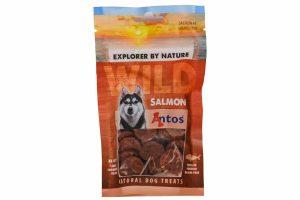 De Antos WILD Zalm van 80 gram is een lekkere, 100% natuurlijk hondensnack. Deze snack is glutenvrij, suikervrij, graanvrij en zit boordevol proteïnen.