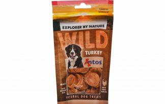 De Antos WILD Kalkoen van 80 gram is een lekkere, 100% natuurlijk hondensnack. Deze snack is glutenvrij, suikervrij, graanvrij en zit boordevol proteïnen.