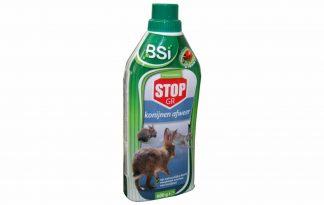 De BSI Stop GR konijnenafweer is een 100% natuurlijk product om overlast van konijnen te voorkomen. Het product bestaat uit korrels die een geur verspreiden die konijnen als zeer onprettig ervaren.