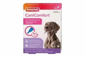 De Beaphar Beaphar CaniComfort Spot On is ideaal om uw hond gerust te stellen op stressvolle momenten. Makkelijk in gebruik, doordat de pipet eenvoudig is toe te dienen. De feromonen geven de hond zowel thuis als onderweg een rustig gevoel.
