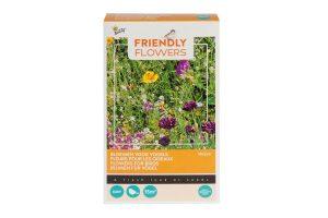 De Buzzy Friendly Flowers bloemenmengsel voor vogels bestaat uit meer dan 15 soorten bloemen! Ideaal wanneer u veel vogels in uw tuin wil spotten. De samenstelling is speciaal gemaakt om vogels naar uw tuin te lokken en daardoor ook van voedsel te voorzien. Bevat onder andere Papever rhoeas, Centaurea Cyanus, Vicia Sativa en Cosmos Bipinnatus.