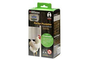 De ChickenGuard Standaard deuropener is een gemakkelijke, automatische hokopener voor het kippenhok. Het betreft een simpele installatie zonder ingewikkelde bedrading.