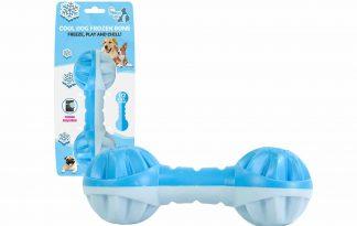 De Coolpets Cooling Frozen Bone is ideaal om verkoeling te bieden aan uw hond met warme zomerdagen. U kan het bot vullen met water en daarna in de vriezer leggen.