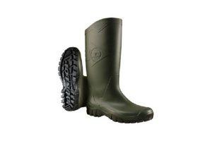 De Dunlop PVC Knielaars draagt comfortabel, heeft veel grip en is gemakkelijk aan- en uit te trekken. De laars komt gemiddeld tot de knie en is gemaakt van PVC. Ideaal voor werkzaamheden in een stal of buiten.