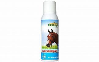 De Ecostyle CalendulaSpray is een natuurlijk huidverzorgingsspray, waardoor de gezonde huidfunctie behouden en ondersteunt wordt. Door de toevoeging van Goudsbloem, Salvia en Hamamelis wordt het herstellend vermogen van de huid bevordert.