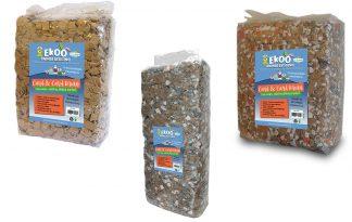 De Ekoo Card & Card bodembedekker bruin is een warm, zacht en stofvrij product. Deze bodembedekker is gemaakt van niet gebruikte, kartonnen dozen.