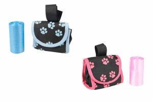 De Flamingo Swifty Easy Bag is een tasje om de poepzakjes in te bewaren. In het tasje past één rolletje poepzakjes, die u er gemakkelijk uit kunt halen.