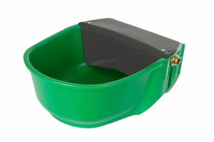 De Kerbl drinkbak met vlotter S30 regelt, dankzij de vlotter, automatisch zijn waterniveau zodat er altijd drinken is.