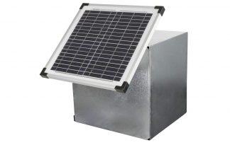 Met de Kerbl zonnepanelen van 15W en 25W kunt u de weide afrastering voorzien van stroom, ook wanneer er geen stopcontact voor handen is.