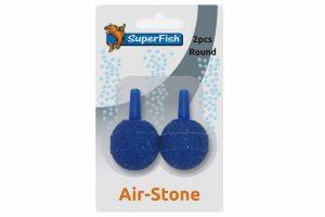 De Superfish Air-Stone is verpakt per twee stuks. Luchtstenen gaan na verloop van tijd dicht zitten door vuil en aanslag, waardoor uw luchtpomp minder goed functioneert. Het is belangrijk om deze jaarlijks te vervangen.