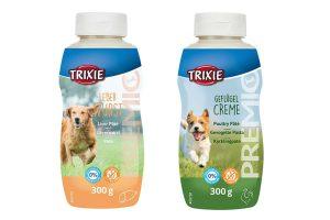 Trixie Premio Pasta is een heerlijke paté in een handige tube, ideaal bij de hondensport, in de hondenschool of gewoon als lekkers tussendoor.