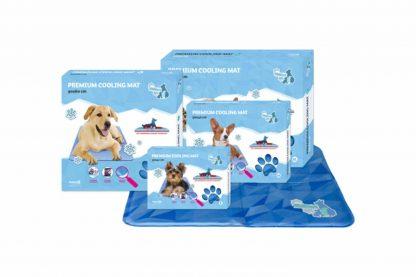 De CoolPets Premium Cooling Mat is de nieuwe koelsensatie. Het is namelijk de enige in zijn soort die op twee verschillende manieren een hond snel en effectief verkoelt. Deze koelmat hoeft nooit in de vriezer of koelkast maar werkt altijd.