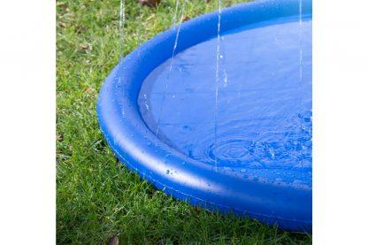 De Coolpets Splash Pool sproeier biedt uw hond uren uniek waterplezier. Dit badje is speciaal ontworpen om uw hond een aangename en verfrissende verkoeling te bieden.